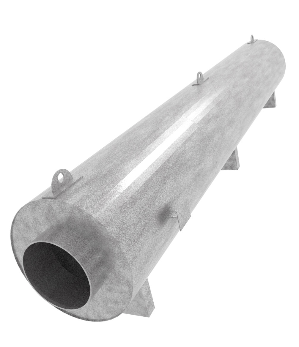 INERCO India Noise Reduction Silencer model